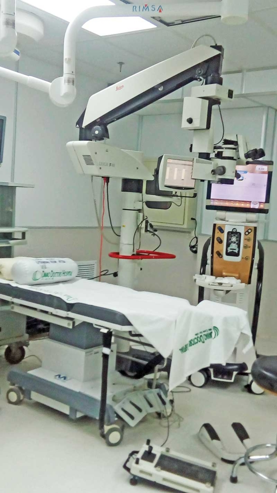 Inside the operating theaters of the hospital. (Contributed photo)