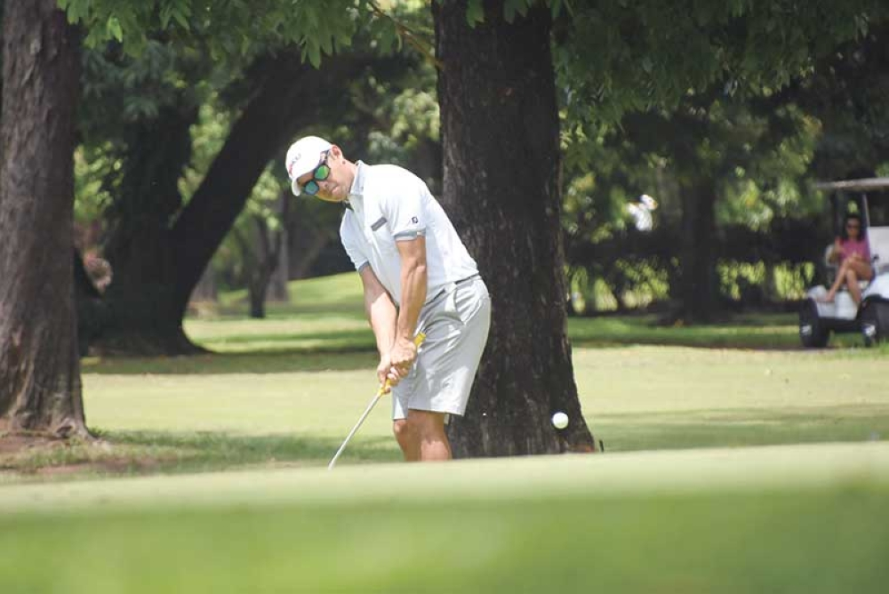 NOT SURPRISED. Marko Sarmiento, one of Cebu's top golfers, was not surprised of the return of Tiger Woods back on top. (SunStar file photo/Ruel Rosello)