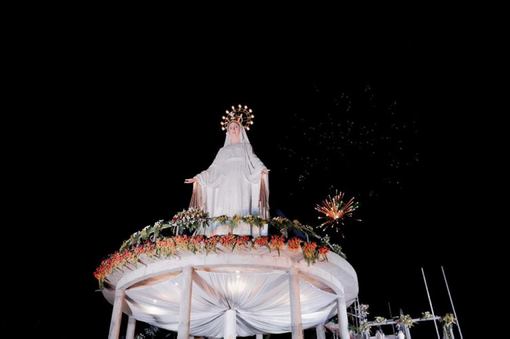 Mama Mary shrine in Minglanilla. (Contributed photo)