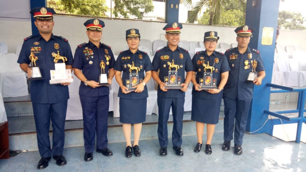 CEBU. Top Lakans and Lakambinis of the Philippine National Police Academy earned accolades during the 117th Police Service Anniversary Celebration on Thursday morning, September 27.