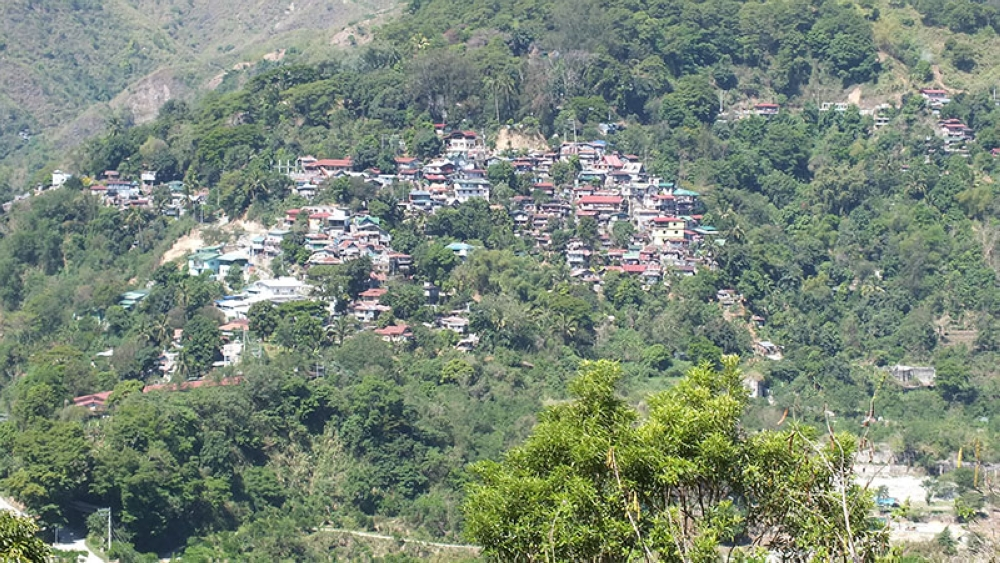 ITOGON. Top view of Barangay Virac in Itogon, Benguet. (Contributed photo)
