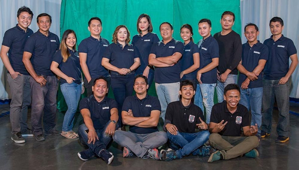 The hosts and crew of Maayong Buntag Mindanao. (Contributed photo)