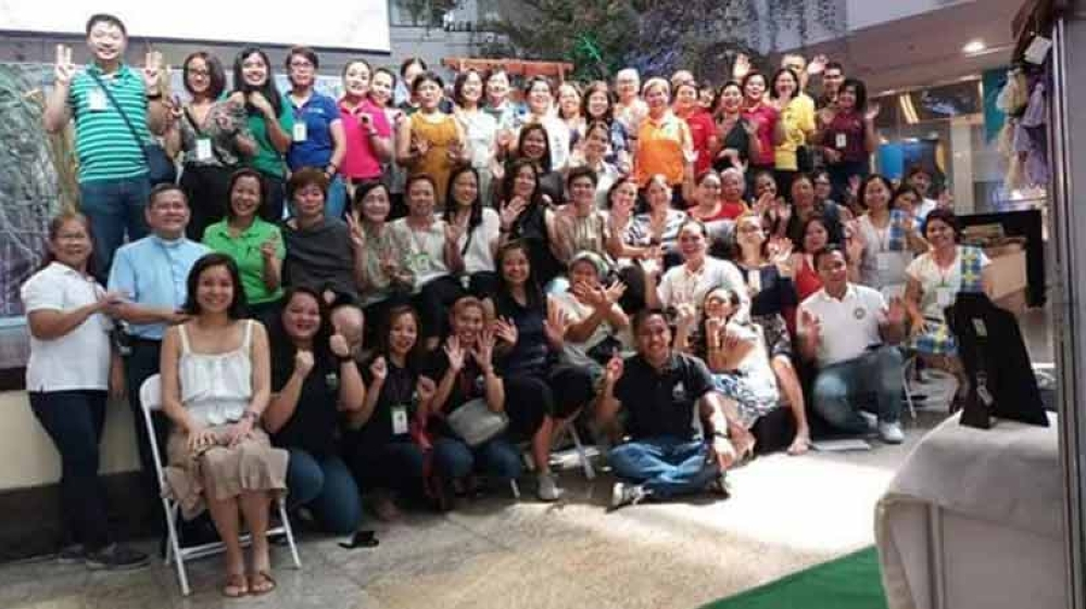 MAKATI. The participating producers with the organizers of the five-day 33rd Negros Trade Fair held at the Glorietta Activity Center in Makati City which ended on Sunday, September 30. (Contributed Photo)