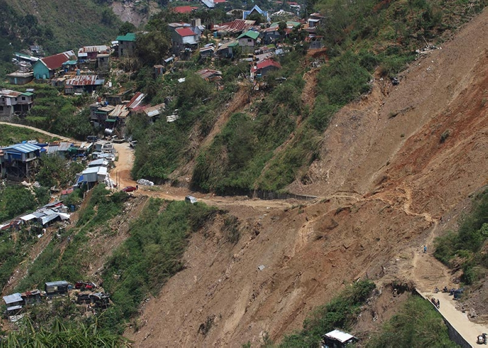 BENGUET. As retrieval operations at level 070 in Ucab, Itogon, Benguet, comes to a halt, authorities in the Cordillera are now starting the crackdown against small-scale mining in the province. (Jean Nicole Cortes)