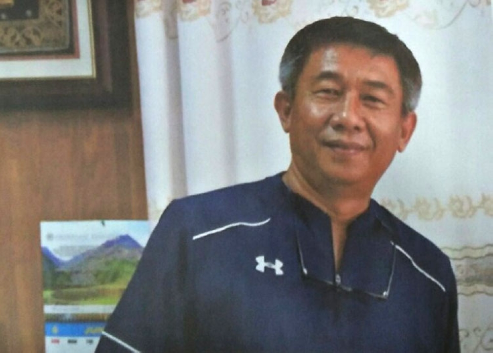 MANILA. Sudipen, La Union Mayor Alexander Buquing was killed in an ambush in La Union. (Photo courtesy of PNP-PIO)