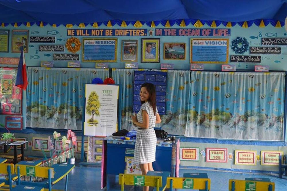 Innovative Classroom Tools ~ Barrio school teacher brings innovation inspiration in