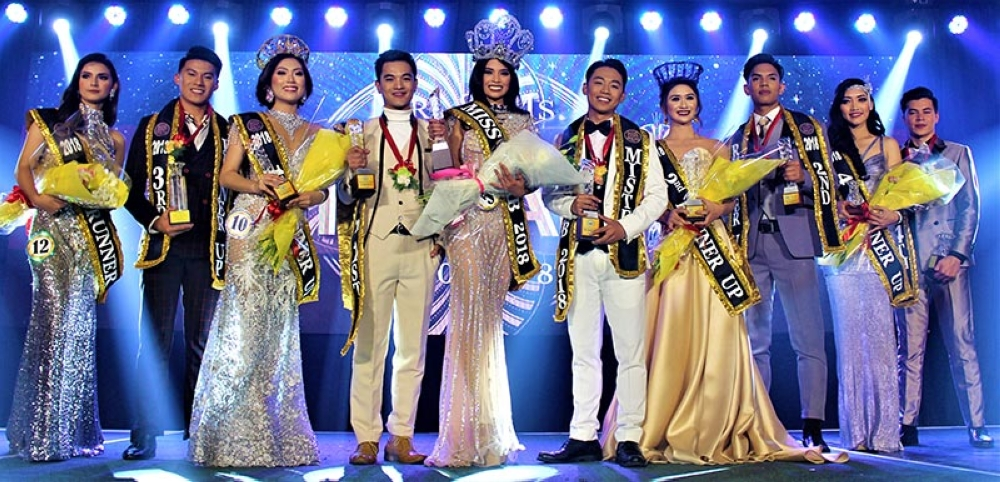 The winners are: Mr. and Ms. HRAB 2018 #11 Benedix Ramos, and #5 Ivylou Borbon; 1st RU #8 Shawn Michael Barila, and #10 Gimelle Carlos; 2nd RU #6 Garth Ezekiel Talusig, and #11 Danika Uden; 3rd RU #3 Lorenzo Mendoza, and #12 Maria Nerissa Shawyer; and 4th RU #7 Hanz Christian Anderson, and #6 Dani Caparas.