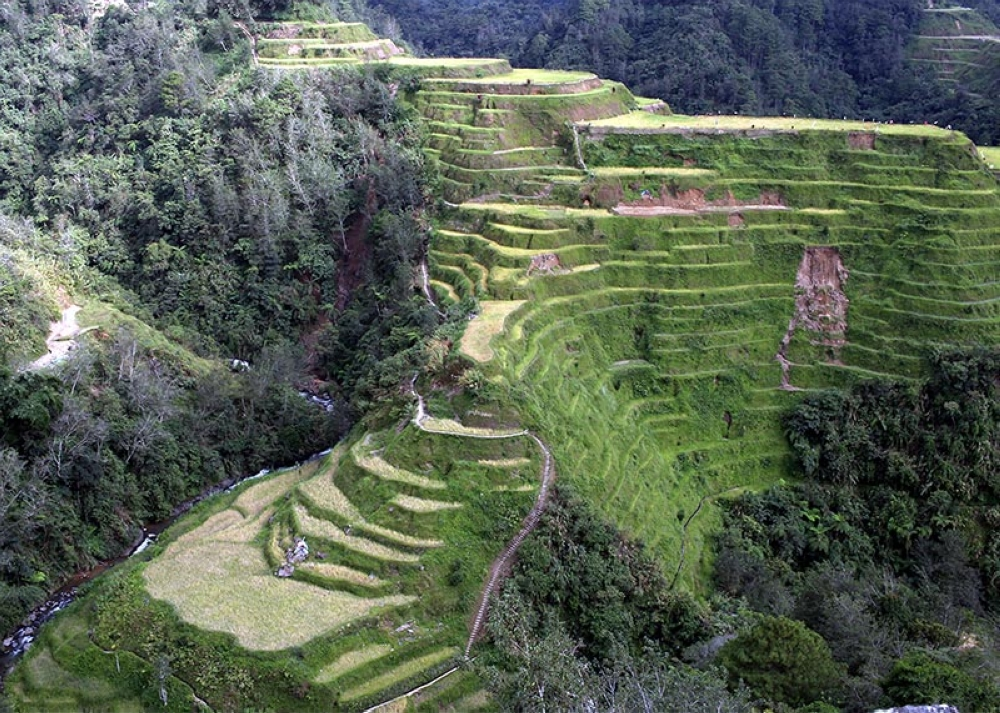 BENGUET. Despite erosion, the Banaue Rice Terraces in Ifugao remains a sight to behold for tourists and locals. Photo by Jean Nicole Cortes