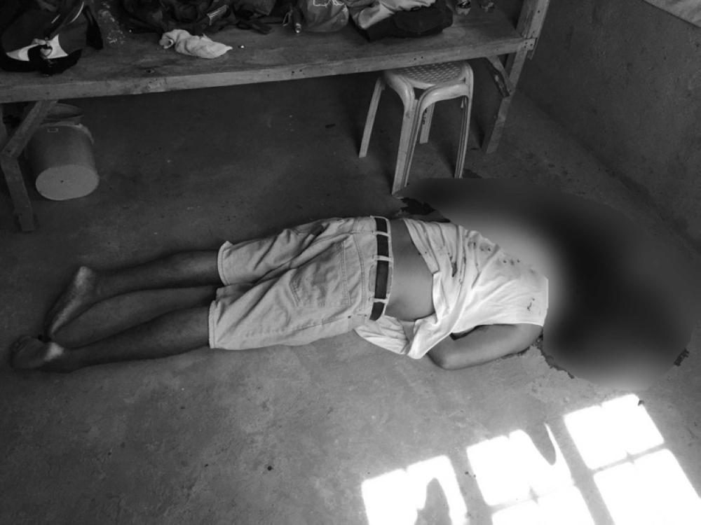 CEBU. Former Barangay Lagtang, Talisay City captain Mark Ferdinand Bas was shot dead in his rented apartment in Sibonga last Sunday . (Photo courtesy of dyHP Cebu)