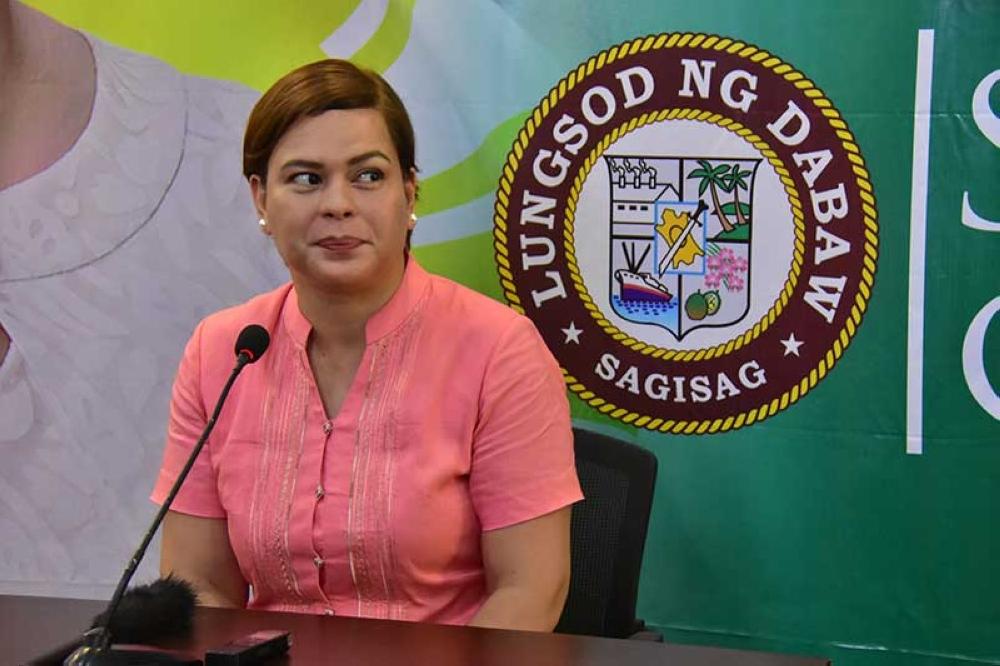 DAVAO. Davao City Mayor Sara Duterte-Carpio wants the Davao City-UP Sports Complex swimming pool to be operational in time for the city's Palarong Pambansa 2019 hosting in April. (Macky Lim/SunStar Davao file photo)