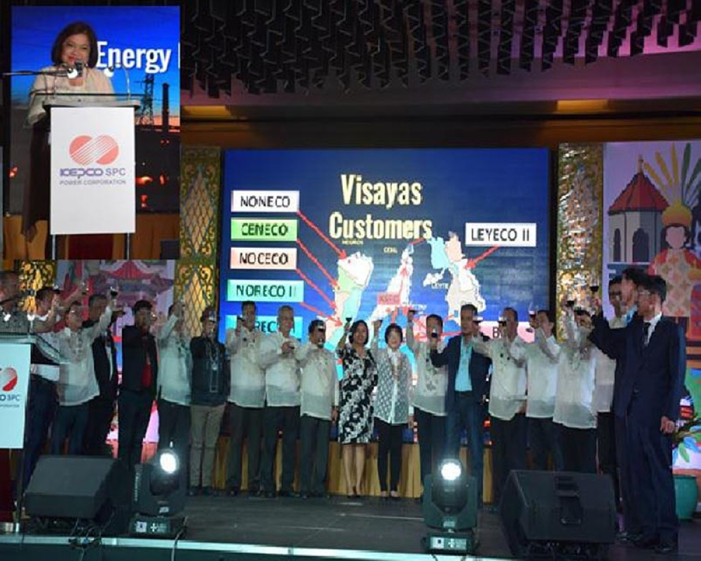 BACOLOD. Guests from the Energy Regulatory Commission, the Department of Energy and other government agencies, and officers of electric cooperatives in the Visayas during the celebration of KSPC's 500 Days Long Term Trouble-Free Operation of KSPC Unit 2 Power Plant and to mark the 13th Foundation Day on October 5 in Marco Polo Hotel, Lahug Cebu City.