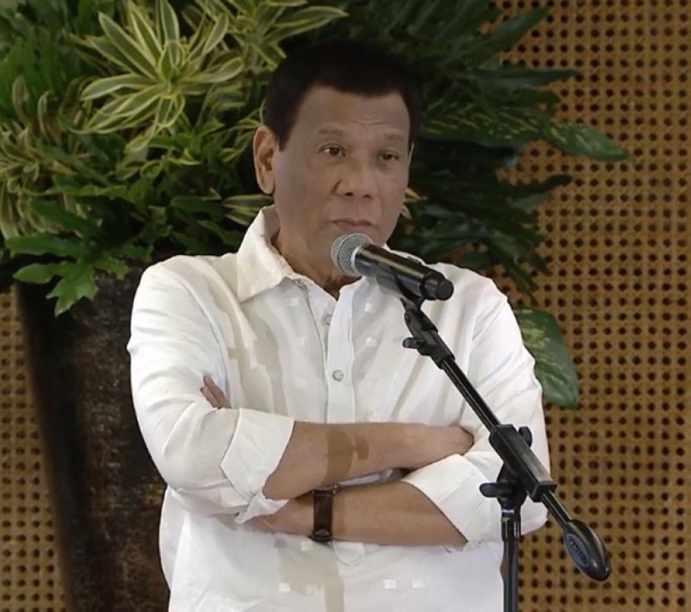 President Rodrigo Duterte (Presidential Communications video)