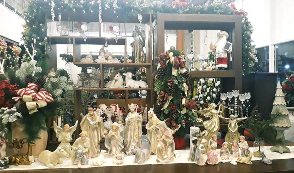 The nativity of Jesus or Belen is the Twin Head Furniture's fast-selling Christmas decoration. (Jo Ann Sablad)