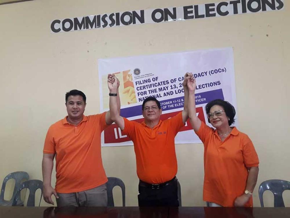 Incumbent Iloilo City Mayor Line Up File Cocs Sunstar