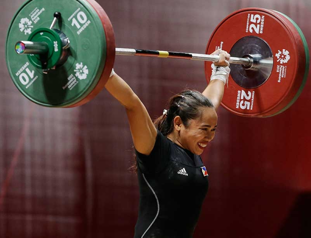 PROJECT NEXT.  The Cebu Weightlifting Association hopes to hone the next lifter to a in the footsteps of Hidilyn Diaz, who won an Olympic silver and an Asian Games gold medal. (SunStar file photo)