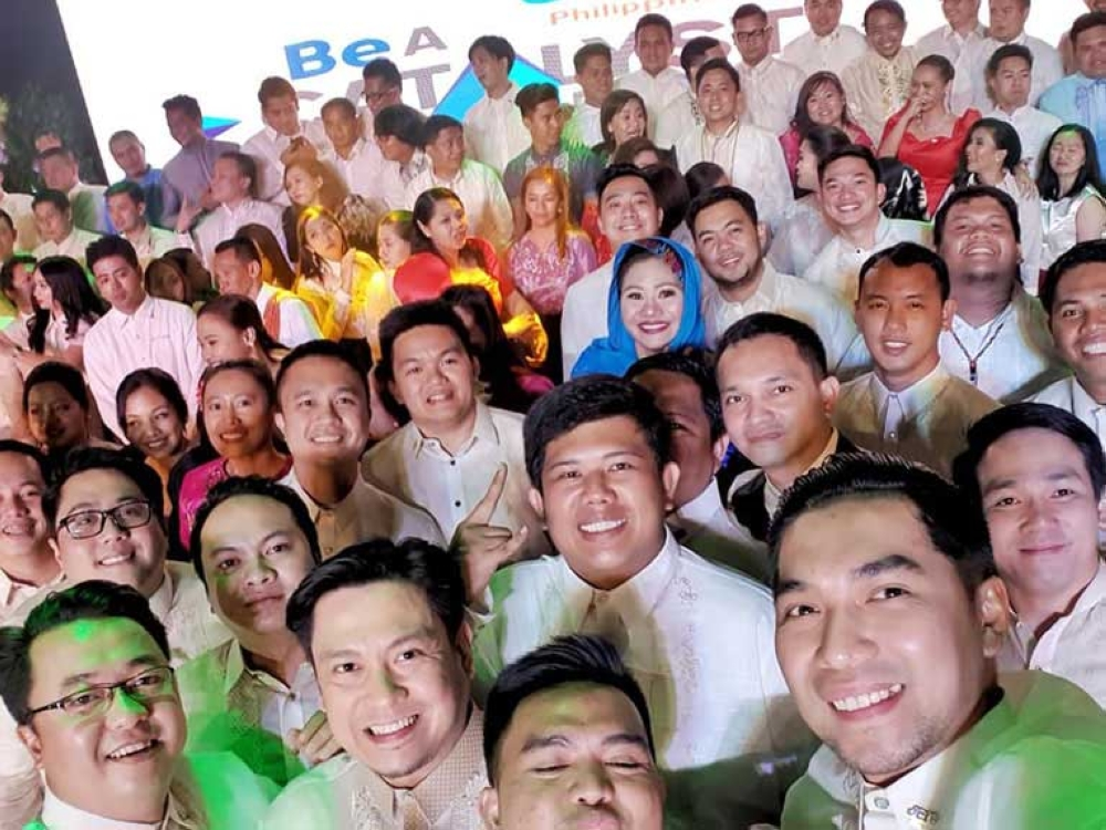 Local chapter presidents of JCI Philippines. (Contributed Photo)