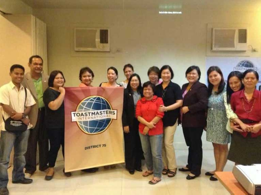 Toastmasters Club officers. (Contributed Photo)