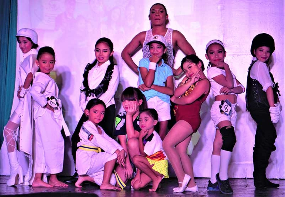 Little Ms. Baguio 2018 Candidates in their Sports Wear. (Contributed photo)