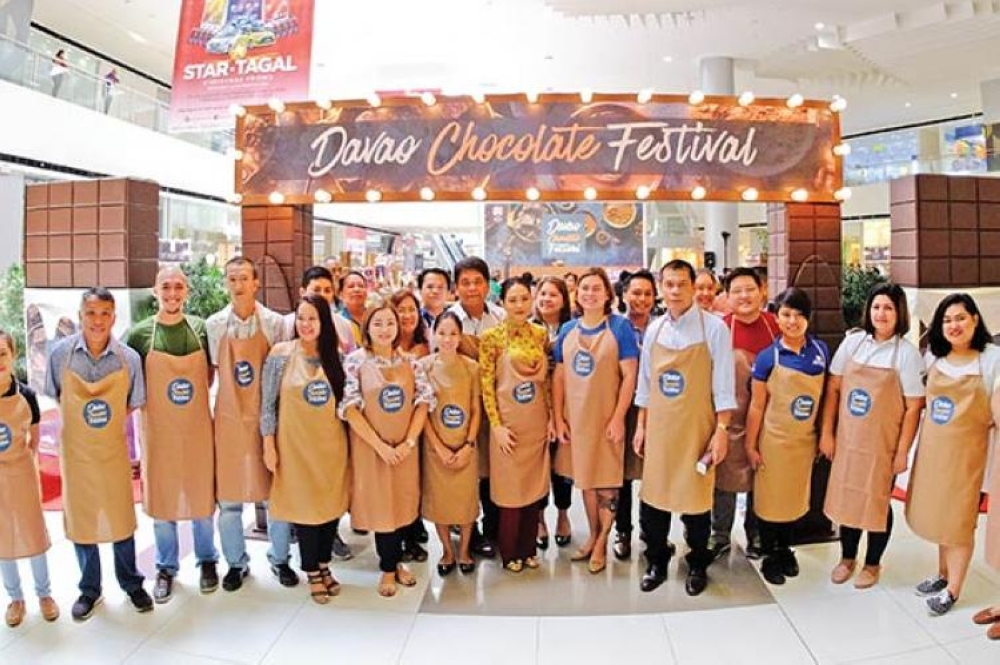 DAVAO. Opening of the Chocolate Festival last year at SM City Davao. (File Photo)