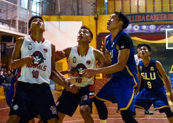BAGUIO. With a retooled line-up, both the Cordillera Career Development College Admirals and the Saint Louis University Navigators are hoping to turn things around when the 31st season of the Bbeal opens this month. (Jean Nicole Cortes)