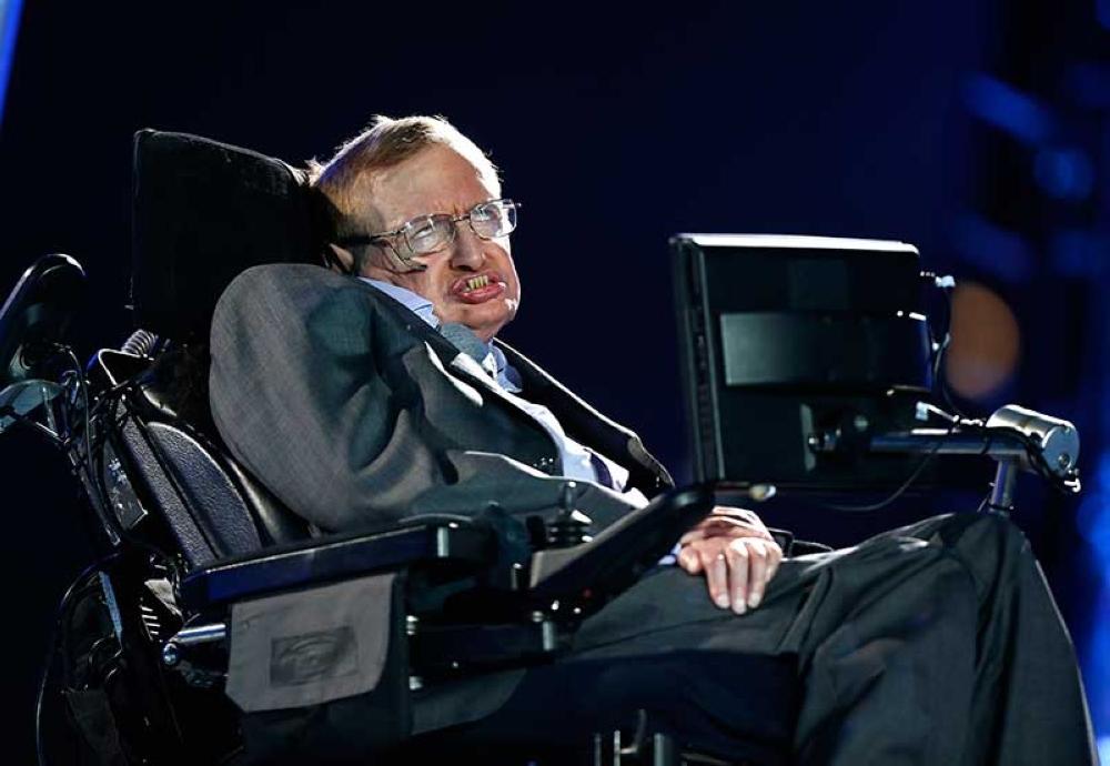 Stephen Hawking. (AP File)