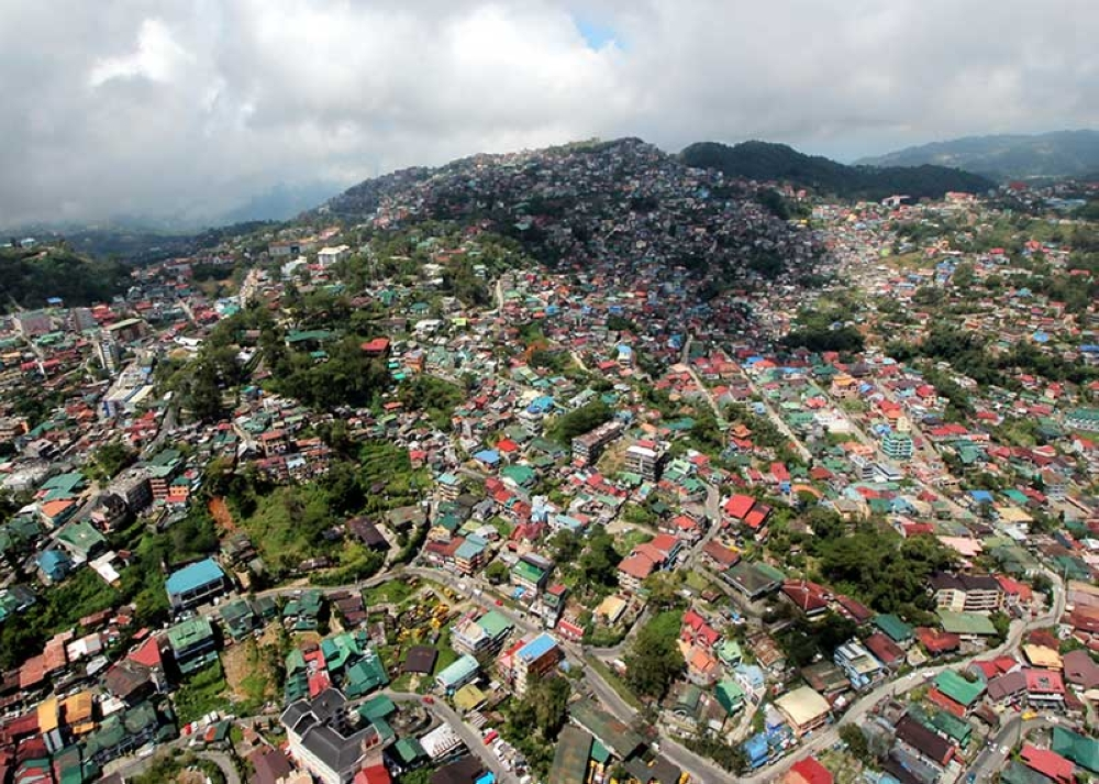 BAGUIO. With the unabated development which has degraded Baguio City's environment, a city official is calling for the amendment of the city's comprehensive land use plan (Clup) to address the Summer Capital's current problems. (Photo by Jean Nicole Cortes)