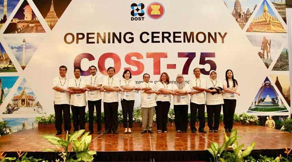 COOPERATION. Science and technology ministers of the Association of Southeast Asian Nations (Asean) held the 75th Meeting of Asean Committee on Science and Technology at the Shangri-La's Mactan Resort in Lapu-Lapu City, Cebu. (Contributed photo)