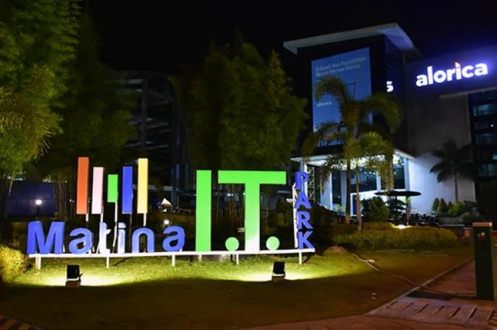 18B-GAD2.JPG - DAVAO. The Matina IT Park serves as home to multiple Business Process Management (BPM) firms in Davao City. (File photo)