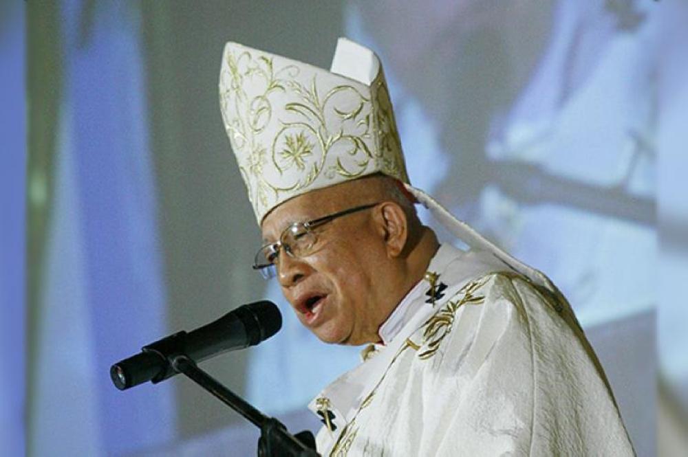 CEBU. The late Cebu Archbishop Emeritus Ricardo J. Cardinal Vidal. (SunStar File)