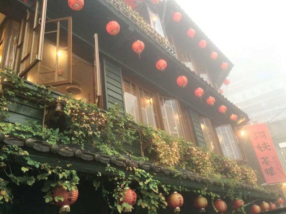 A-MEI TEAHOUSE. This quaint teahouse in Jiufen Old Street is a popular stop in Taiwan. Taiwan hopes to welcome more Filipino visitors following its visa-free access extension to Filipinos. (SunStar file photo)