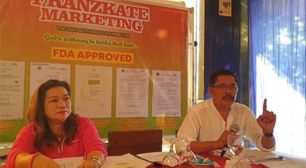 BACOLOD. Interchemex Laboratories Inc. and Franzkate Marketing represented by lawyer Joemax Ortiz and Luisa Macalma. (Carla Cañet)