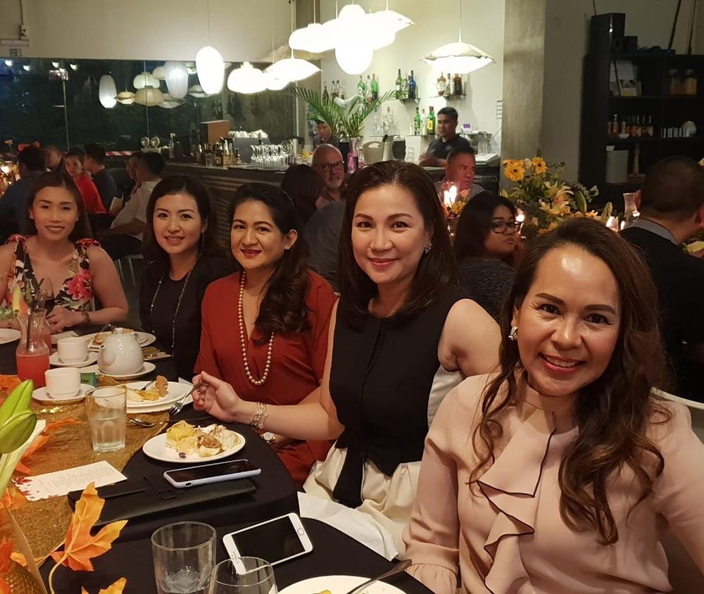Cathleen Go, Caroline Po, Cecile Rivera, Jane Rivera and Debbie Ann Riveral