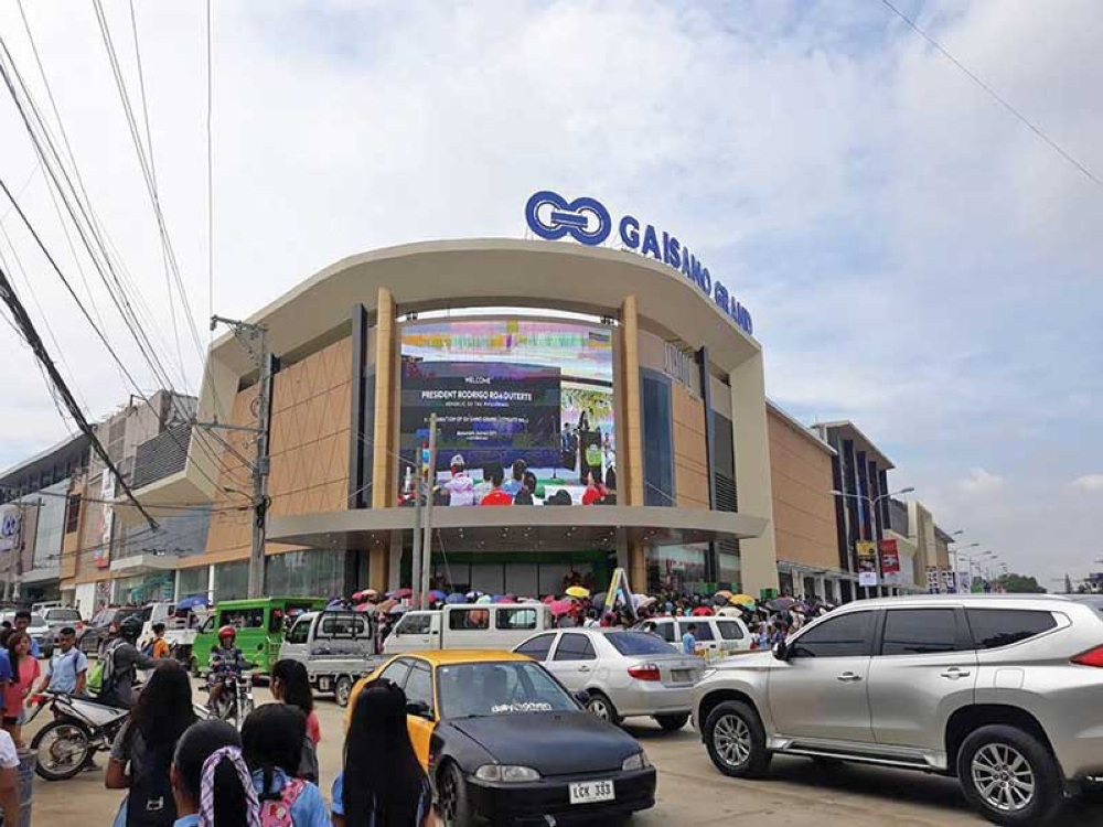DAVAO. Gaisano Grand Citygate Mall in Buhangin, Davao City opened its doors to Dabawenyos on Friday, October 19, 2018. (Photo by Ace Perez)