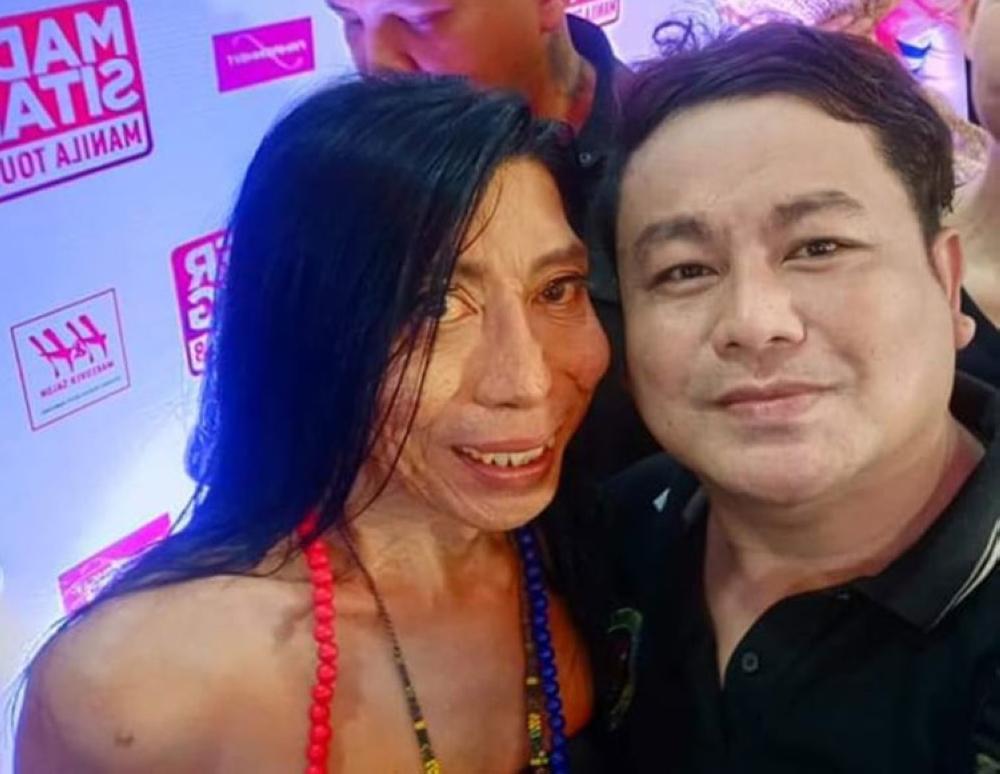 Mader Sitang and Timmy Basil