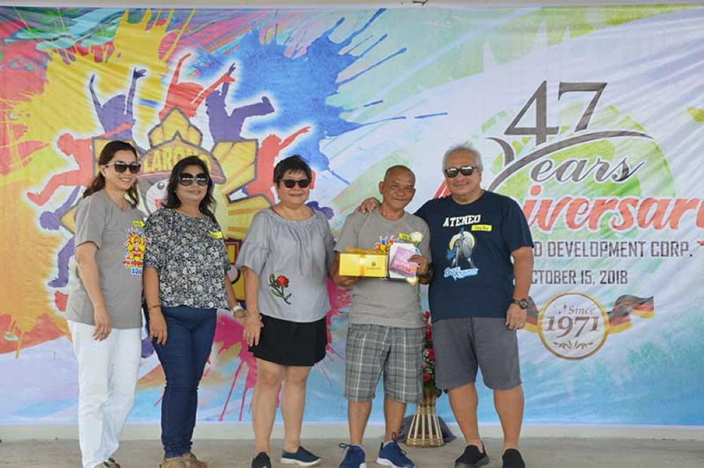 25 years' service awardee Bartolome Pamat, Jr. (Contributed photo)