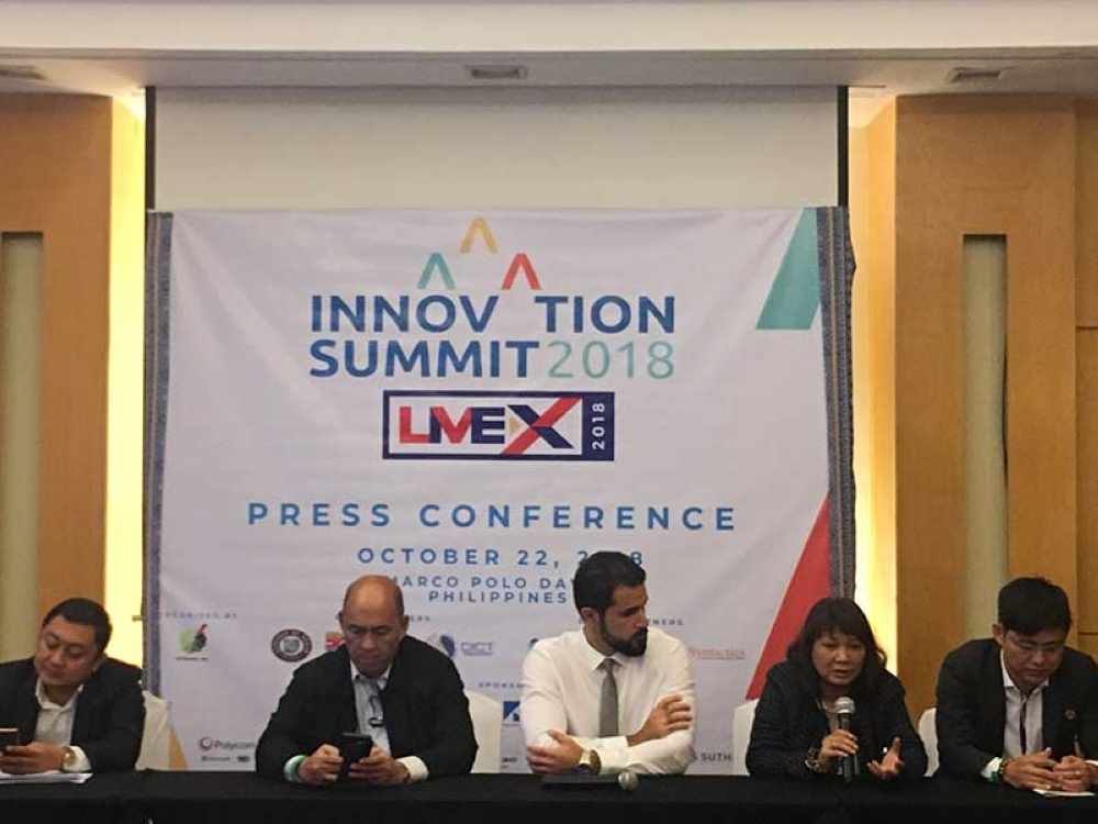 DAVAO. Press conference of the Livex 2018 Innovation Summit at Marco Polo Hotel, Davao City. (Contributed Photo)