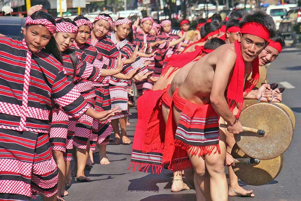 BENGUET. Indigenous peoples from Benguet perform during a recent celebration in La Trinidad. (SSB Photo)