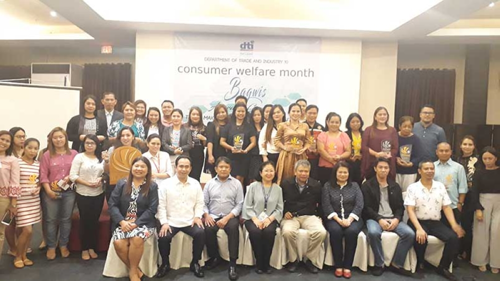 CAGAYAN DE ORO. A total of 30 business establishments in Northern Mindanao received the Department of Trade and Industry Bagwis Awards during the awarding ceremony in Mallberry Suites on Tuesday, October 23. (Jo Ann Sablad)