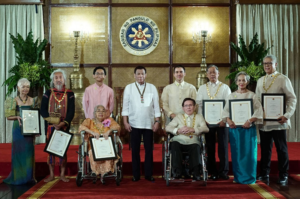 7 new national artists receive awards - SUNSTAR