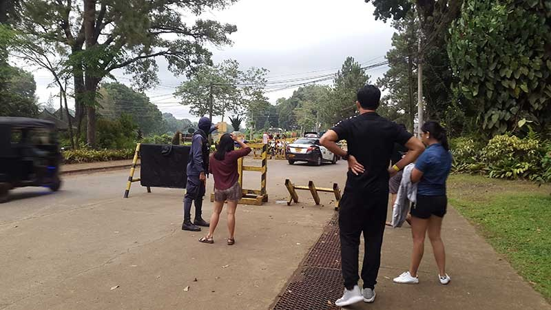 BUKIDNON. Previous incidents of unrest brought by the NPA rebels' infiltration of the Del Monte Philippines' pineapple haven has prompted the now tourist fave Camp Phillips in Manolo Fortich, Bukidnon to step up security measures. (Photo by Lynde Salgados)
