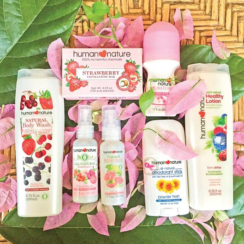 Rethink your pink: use products that are free from toxic chemicals that are linked to cancer. (Andrea Isabelle Mejos)