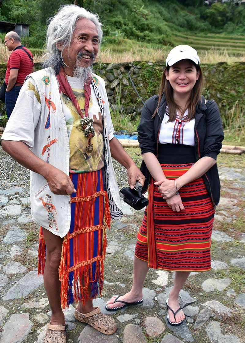 BAGUIO. Indie film artist Eric de Guia, known as Kidlat Tahimik, was conferred as a National Artist for Film and Broadcast by President Rodrigo Duterte and the National Commission on Culture and the Arts at the Malacañang on October 24, 2018. (Photo by Redjie Melvic Cawis)