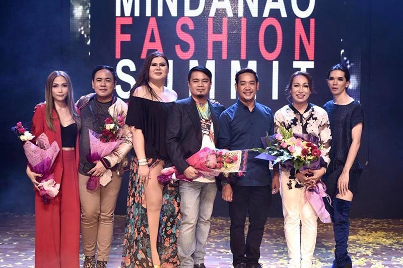 CAGAYAN DE ORO. The Oro Fashion Designer's Guild (OFDG) during the 7th Mindanao Fashion Summit last August. Gil Macaibay III is one of the members of the OFDG. (Photo from Gil Macaibay III's Facebook account)