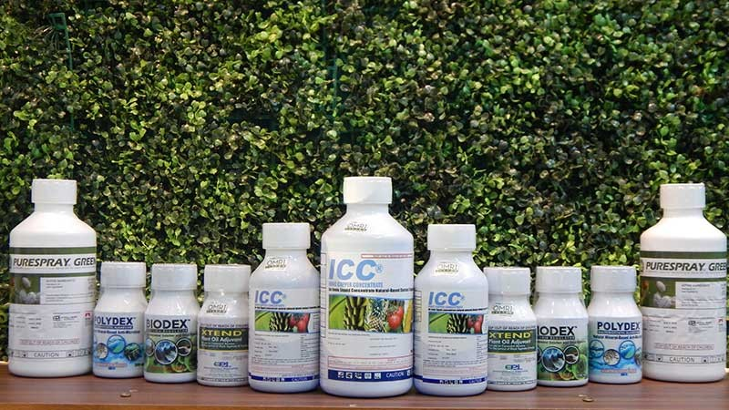 DAVAO. EPI agriculture division products commits to preserve the environment through its ecofriendly products. Some of its products include Purespray Green, EXTEND, and ICC and water treatment products like Biodex and Polydex. (Contributed photo)