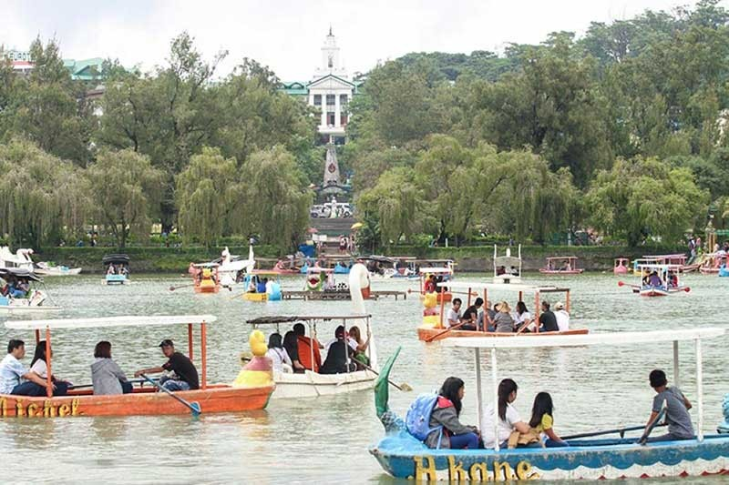 BAGUIO. Burnham Park is one of the famous tourist attractions in Baguio City. (File photo)