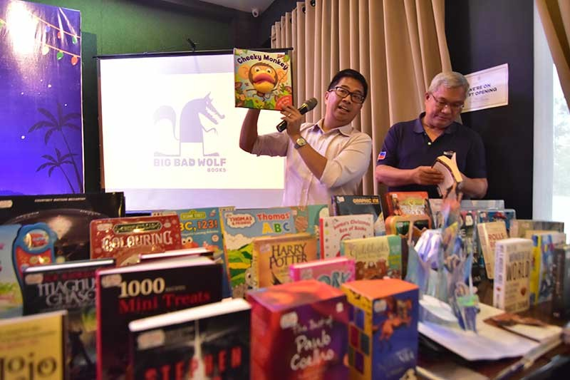BOOKS ON SALE. One million books and over 20,000 titles will be available during the Big Bad Wolf Davao on November 23 to December 2 at the Tent, Azuela Cove. (Macky Lim)
