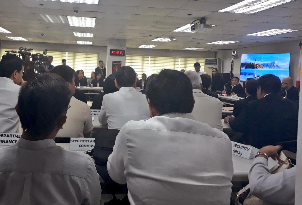 MANILA. Bids for the new major player in the telecommunications industry are opened at the National Telecommunications Commission on Wednesday, November 8, 2018. (Photo by Ruth Abbey Gita)