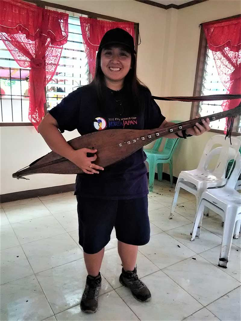 Kudlong. A two stringed lute style instrument. (Contributed photo)