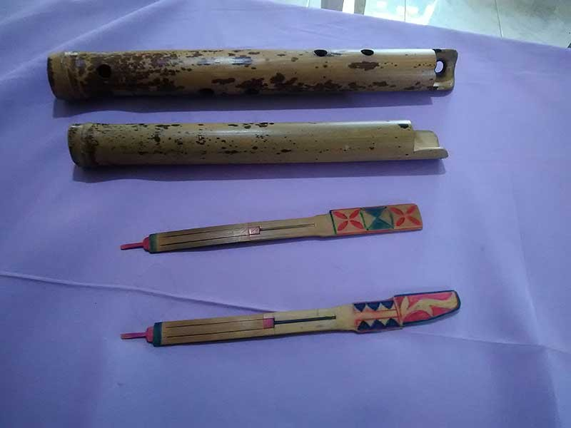 Kombeng or known as jaw harp is made of bamboo. (Contributed photo)