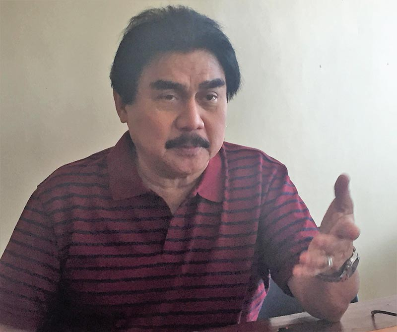 BACOLOD. Bacolod City Mayor Evelio Leonardia urges all the Barangay Anti-Drug Abuse Council to intensify its campaign against illegal drugs. (SunStar File Photo)